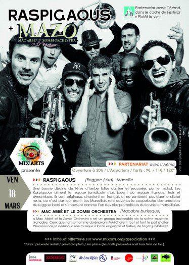 Raspigaous + Mac Abbé et le Zombi Orchestra