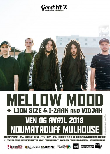 Mellow Mood / Lion Size, I-Zaak & Vidjah