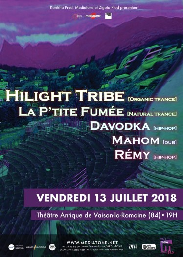 Hilight Tribe / La P'tite Fumée / Mahom / Davodka / Rémy