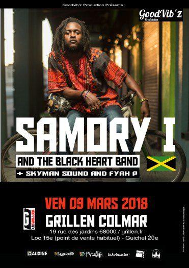 Samory I & The Black Heart Band, Fyah P & Skyman Sound