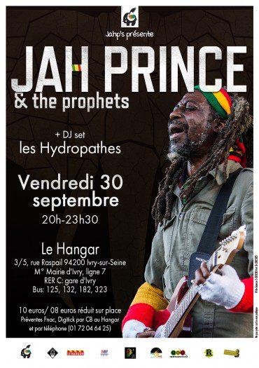 Jah Prince & The Prophets au Hangar