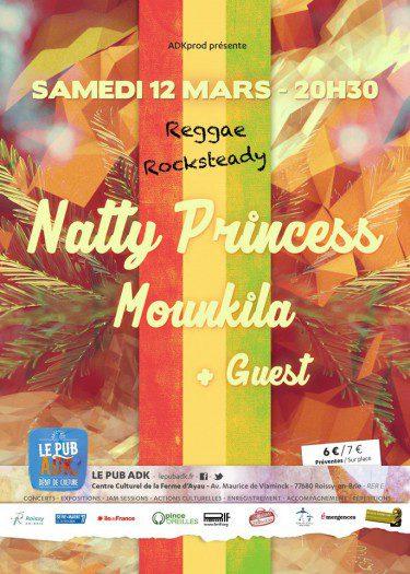 Natty Princess + Mounkila @ Roissy-en-Brie