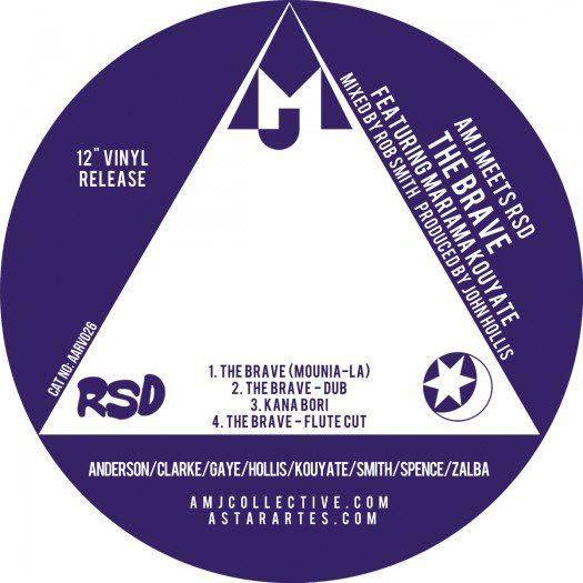 "AMJ meets RSD ft. Mariama Kouyate - 12"" The Brave"
