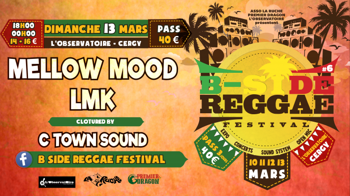 B Side Reggae Festival – Mellow Mood