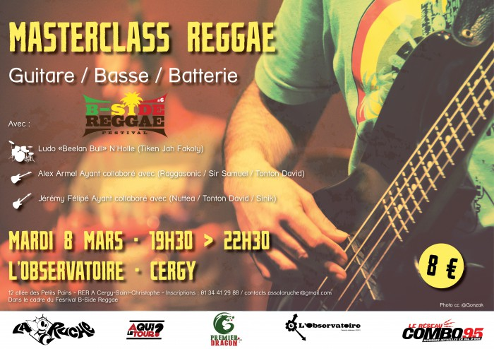 B-Side Reggae Festival – Masterclass