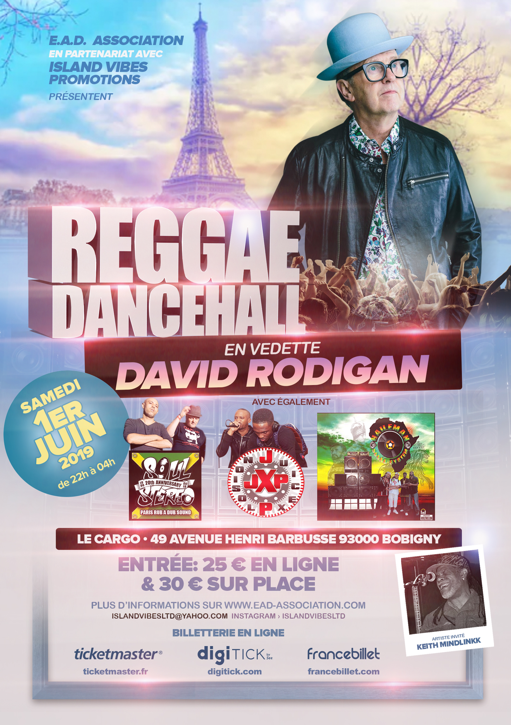Reggae Dancehall ft. David Rodigan