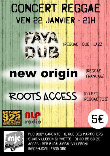 Faya Dub + New Origin + Roots Access