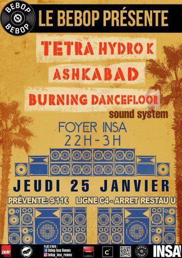 Tetra Hydro K / Ashkabad / Burning Dancefloor