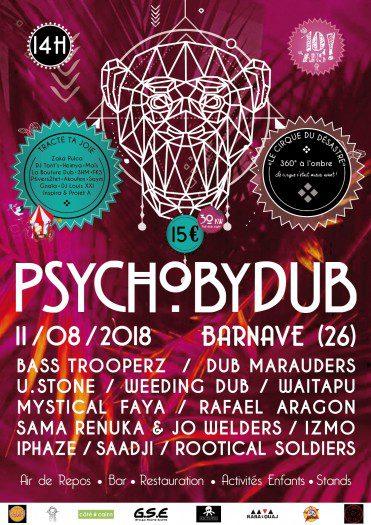Psychobydub : 10 ans !