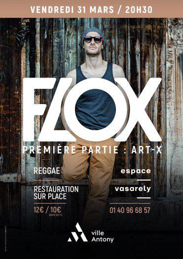 Flox + Art-X @ Espace Vasarely