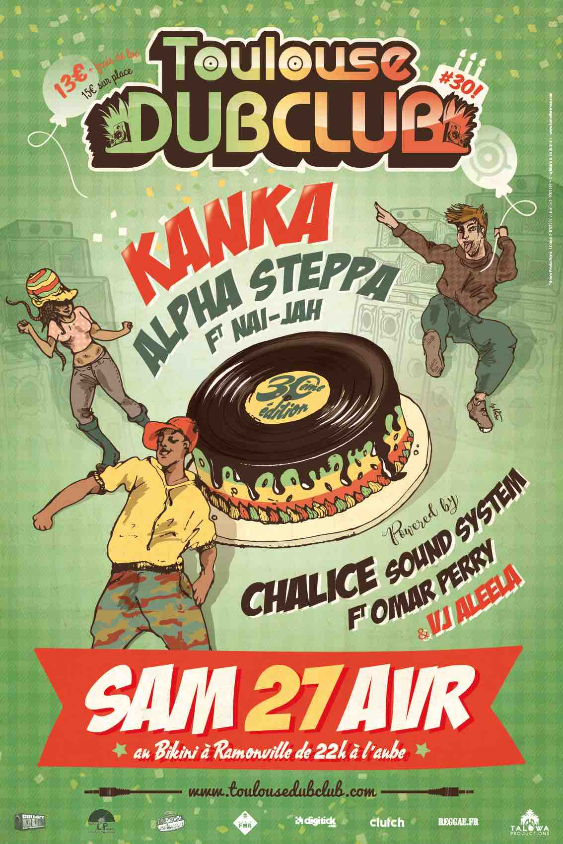 Toulouse Dub Club #30