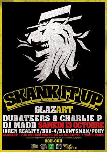 Skank It Up 2012 Dubateers Charlie P Dj Madd Idren Reality Dub 4 Bluntsman Pohy