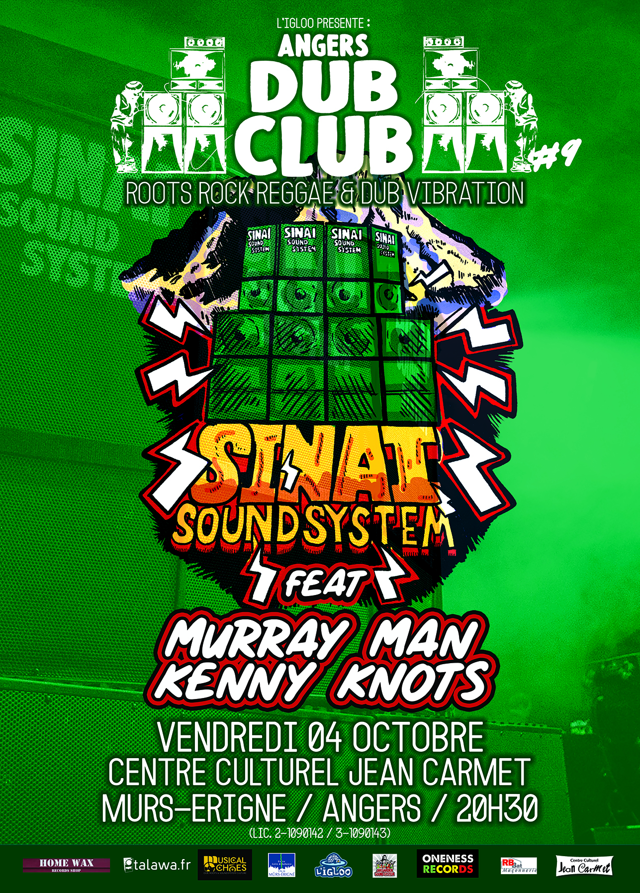 Culture Dub Show – 01 Octobre 2013 – Radio Pulsar
