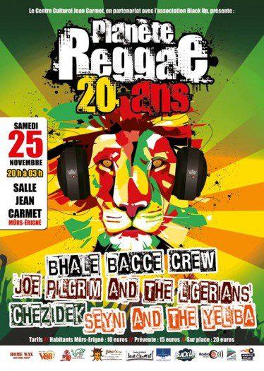 Les 20 ans de Planète Reggae