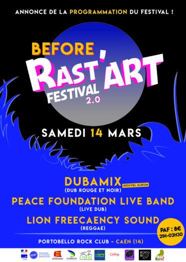 Before Rast'Art Fest