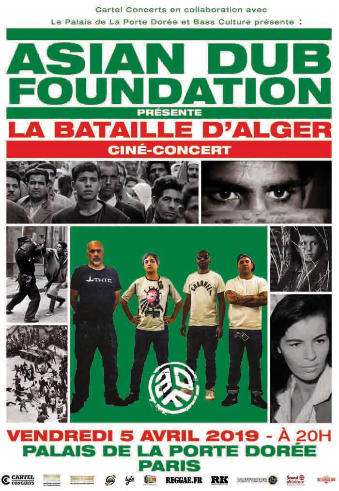 Asian Dub Foundation présente La Bataille d'Alger