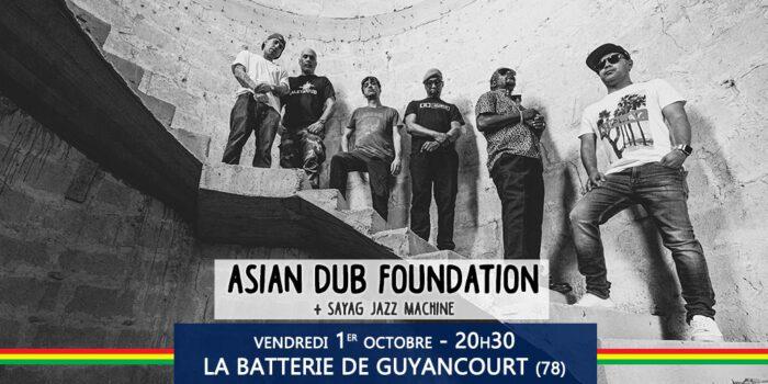 Asian Dub Foundation + Sayag Jazz Machine