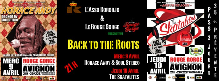 Back to the Roots : Horace Andy / The Skatalites