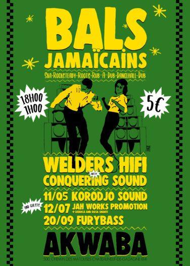 Bal Jamaïcain – Guest : Furybass