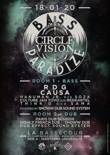 Bass Paradize x Circle Vision