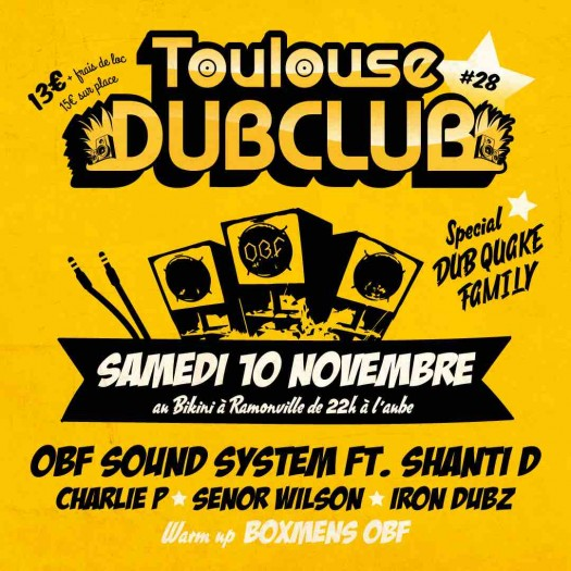 Toulouse Dub Club #28