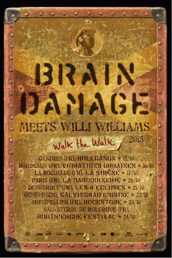 Brain Damage & Willi Williams + Dr Flake
