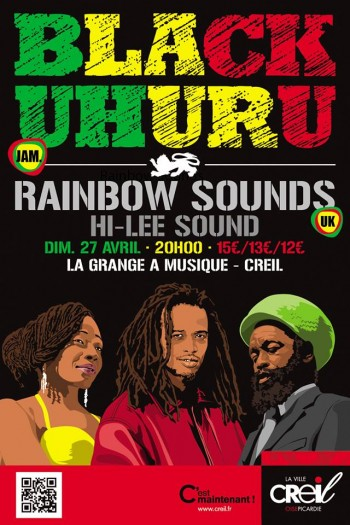 Black Uhuru + Rainbow Sounds + Hi-Lee Sound @ GAM
