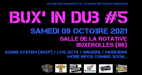 Culture Dub Show – 03 Octobre 2017 – Radio Pulsar