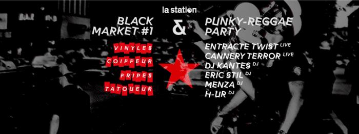 La Station Black Market – Punky Reggae Party