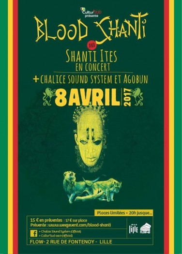 Blood Shanti & The Shanti-Ites + Chalice Sound & Agobun