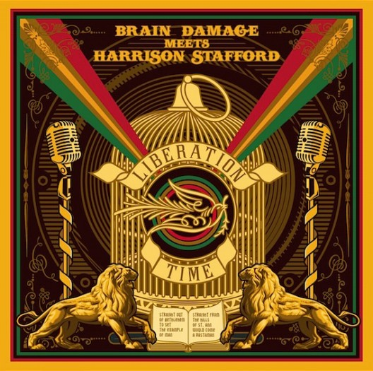 Brain Damage meets Harrison Stafford - Liberation Time