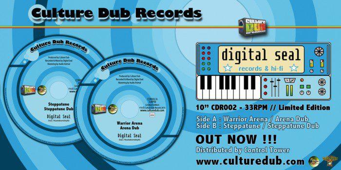 """10"""" Culture Dub Records CDR002"""