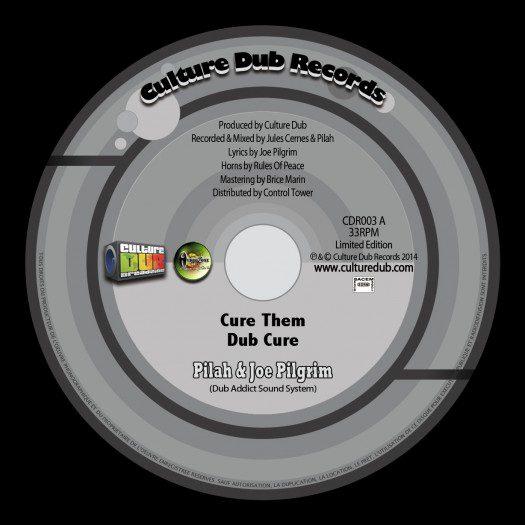 """Pilah & Joe Pilgrim - 10"""" CDR003"""