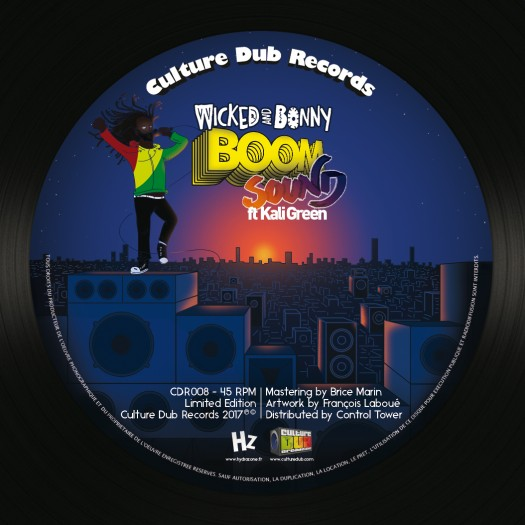 7inch Culture Dub Records CDR008