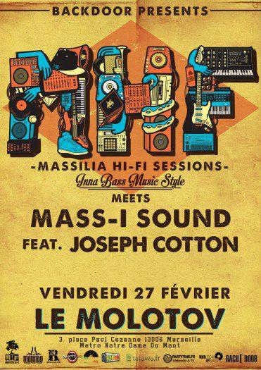 Massilia Hi-Fi meets Mass I Sound ft Joseph Cotton