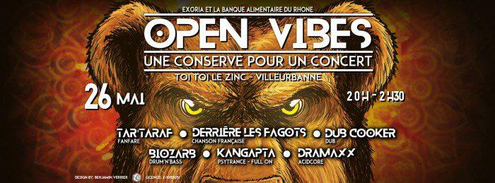 Open vibes : une conserve pour un concert