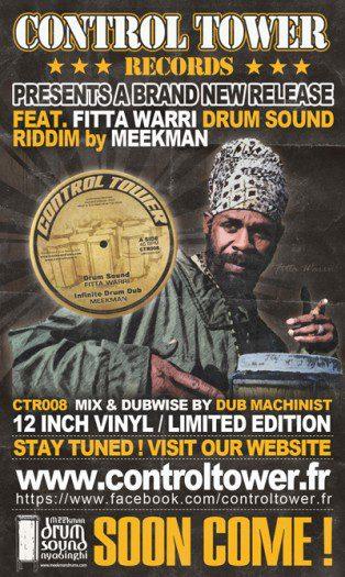 "Meekman feat. Fitta Warri - Drum Sound - 12"" Control Tower"