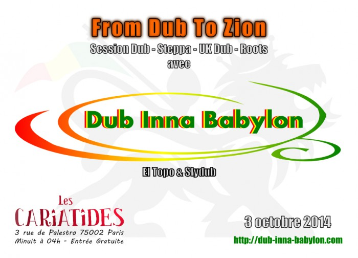 From Dub To Zion