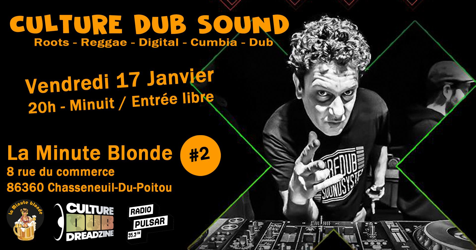 Culture Dub Show Ina Party Time Radio – Podcast #25