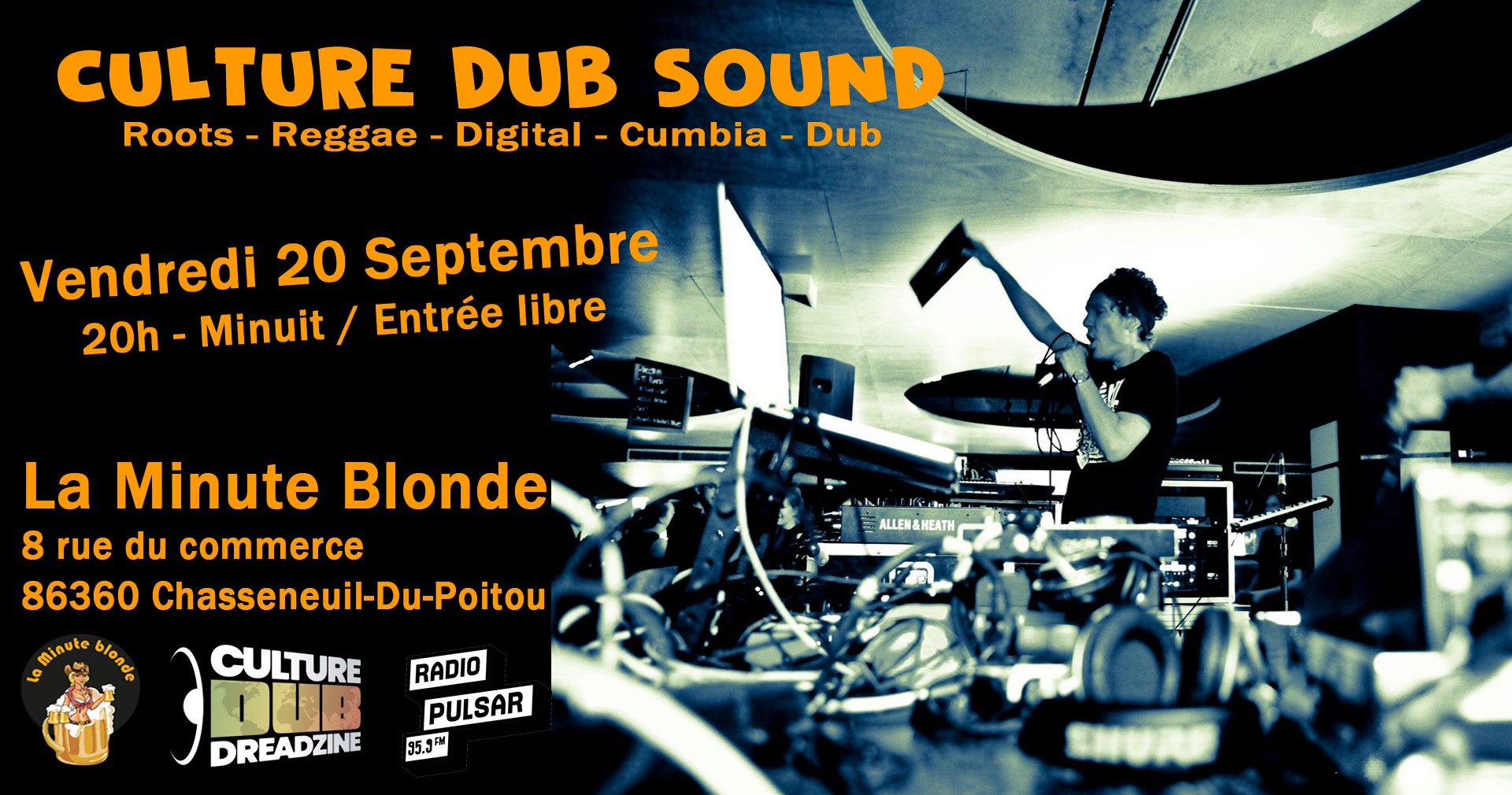 Culture Dub Show –  22 Octobre 2013 – Radio Pulsar