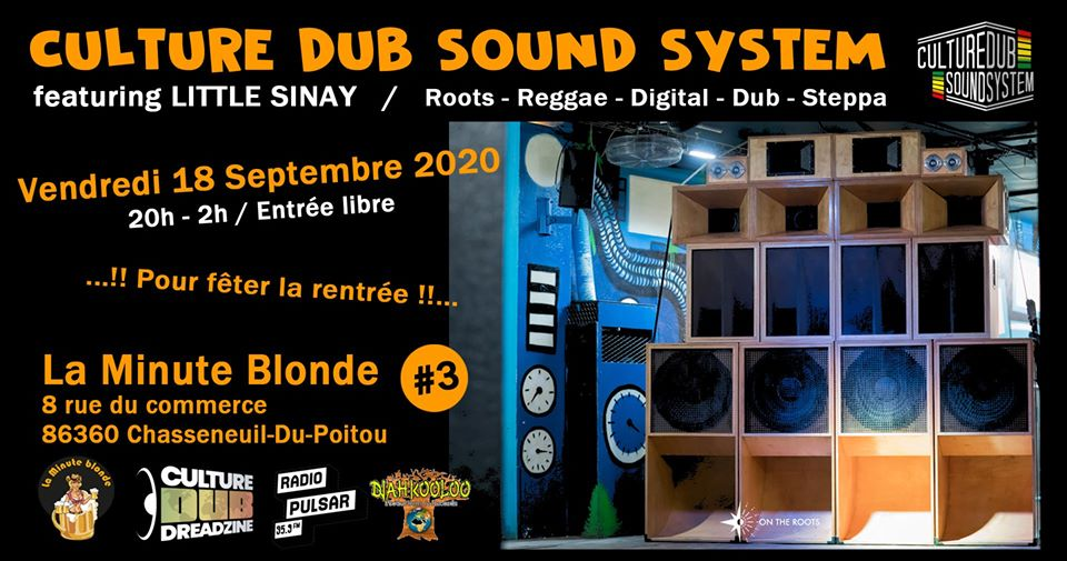 Culture Dub Show – 10 Novembre 2014 – Spéciale Télérama Dub Festival Vol.12 – Party Time Radio & TV
