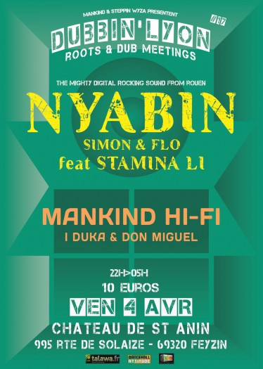 Dubbin' Lyon : Nyabin Meets Mankind HI-FI