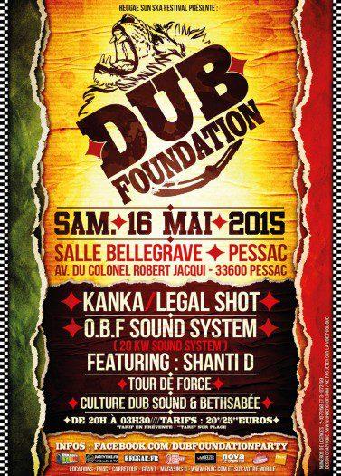 Dub Foundation Pessac