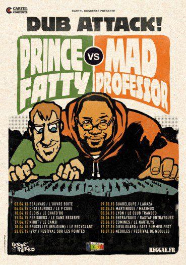 Mad Professor vs Prince Fatty - Dub Attack !