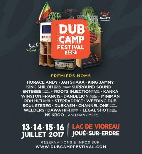 Dub Camp 2017 - Premiers Noms