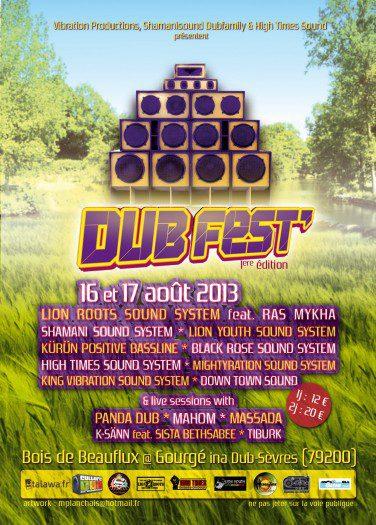 Dub Fest' 2013