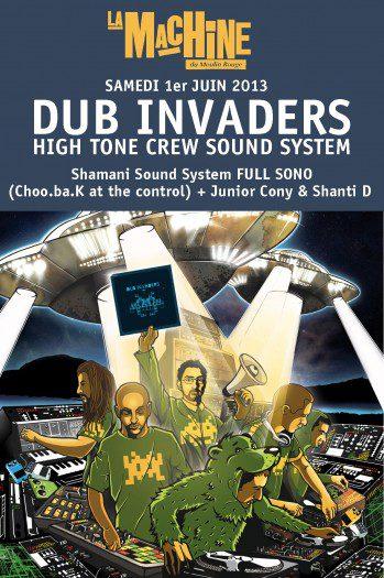 Dub Invaders - La Machine