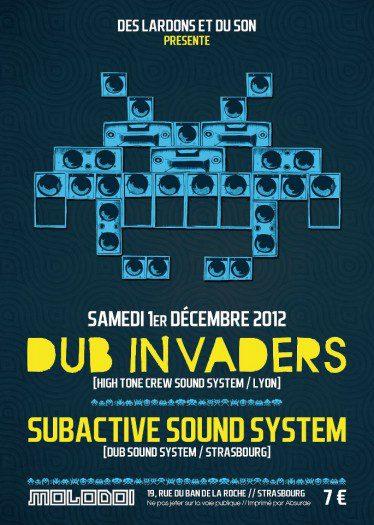 Dub Invaders Molodoi Strasbourg