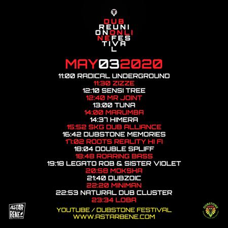Dub Reunion Online festival