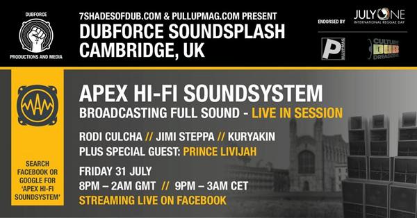 DubForce Soundsplash Cambridge